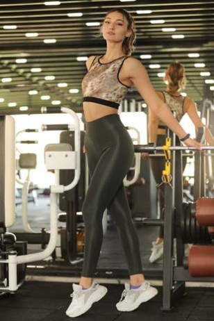 Gray Sport Leggings