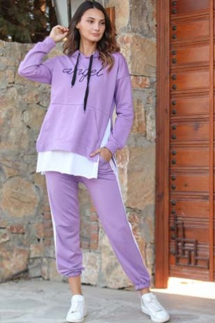 Lila Track Suit