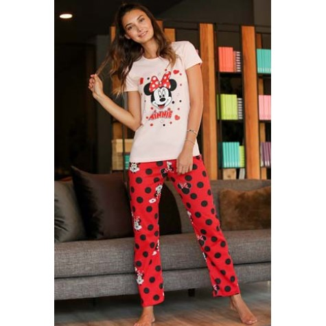 Red Spotted Sweatpants